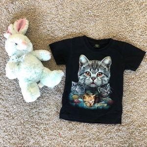 4-6 Black Kitty shirt